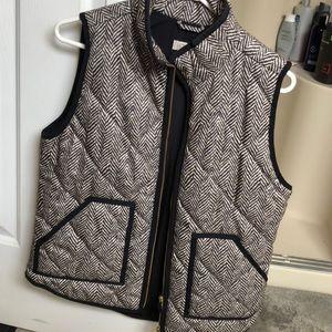 Jcrew factory herringbone vest